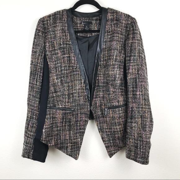 1c7301113c5ec Lane Bryant Jackets   Blazers - Lane Bryant Pink Tweed Drape Blazer Size 20